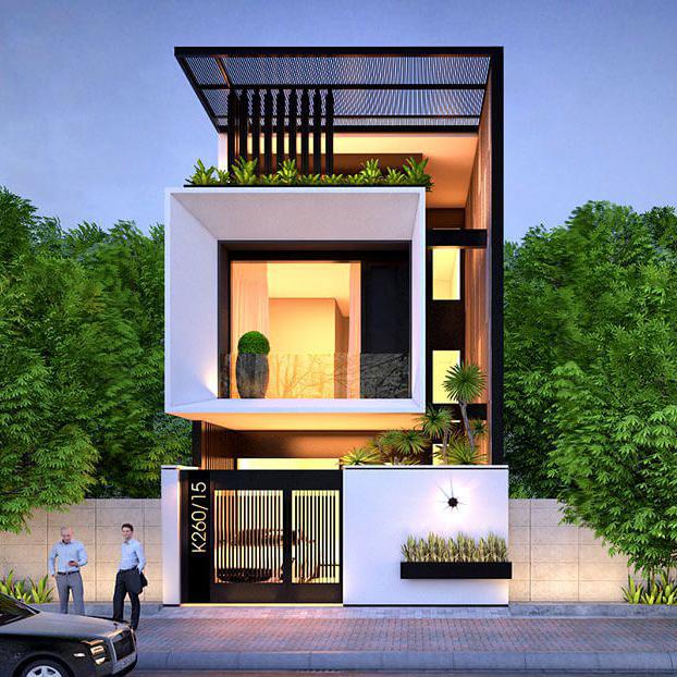 Thiết kế nhà phố hiện đại 6x18m thông thoáng