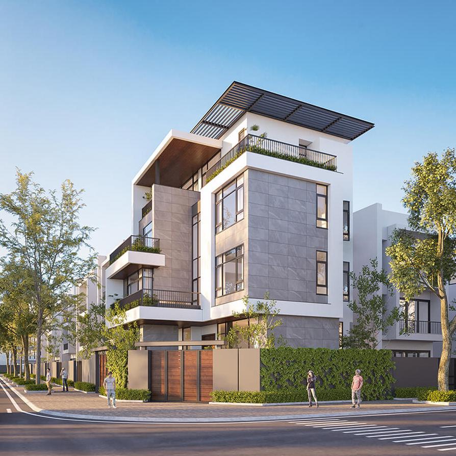 Biệt thự phong cách tối giản 10x18m tại Thành Phố Quy Nhơn