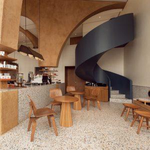 """Quán Cafe phong cách hiện đại hòa cùng hơi thở của """"Đất"""""""