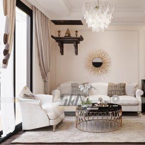 Thiết kế nội thất Luxury tại Vinhomes Central Park – 3 Phòng Ngủ